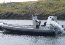 salmon farming boats flugga boat