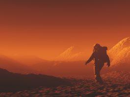 organic compound on Mars