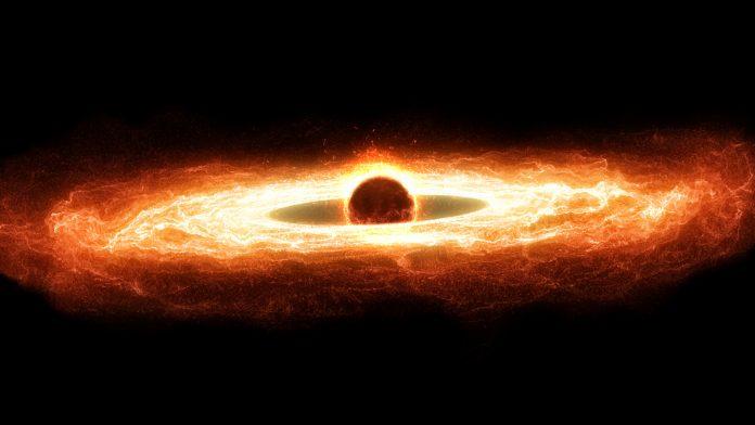 heartbeat of a supermassive black hole