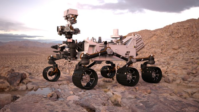 Mars rover competition