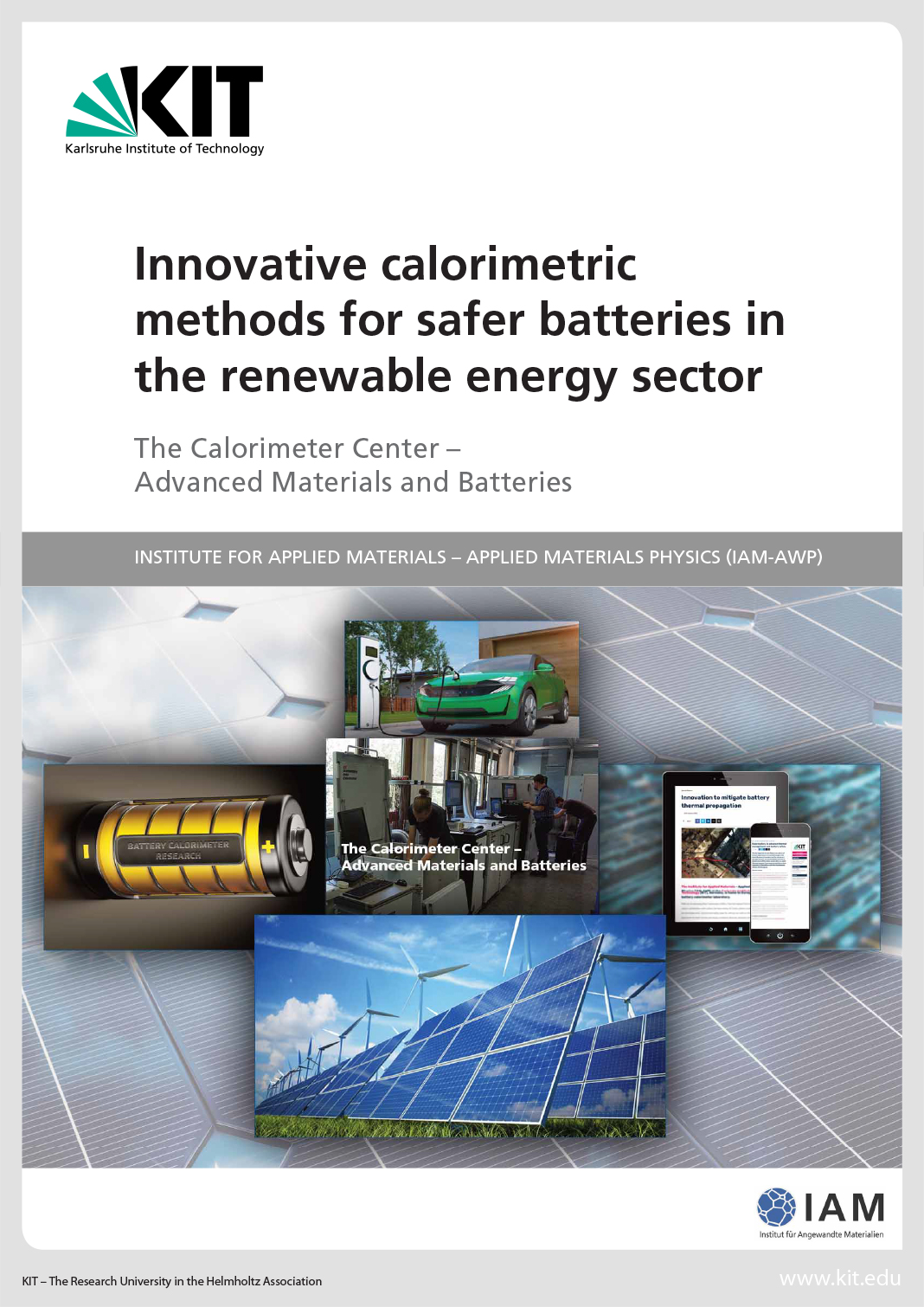 Innovation in batteries to support the renewable energy industry