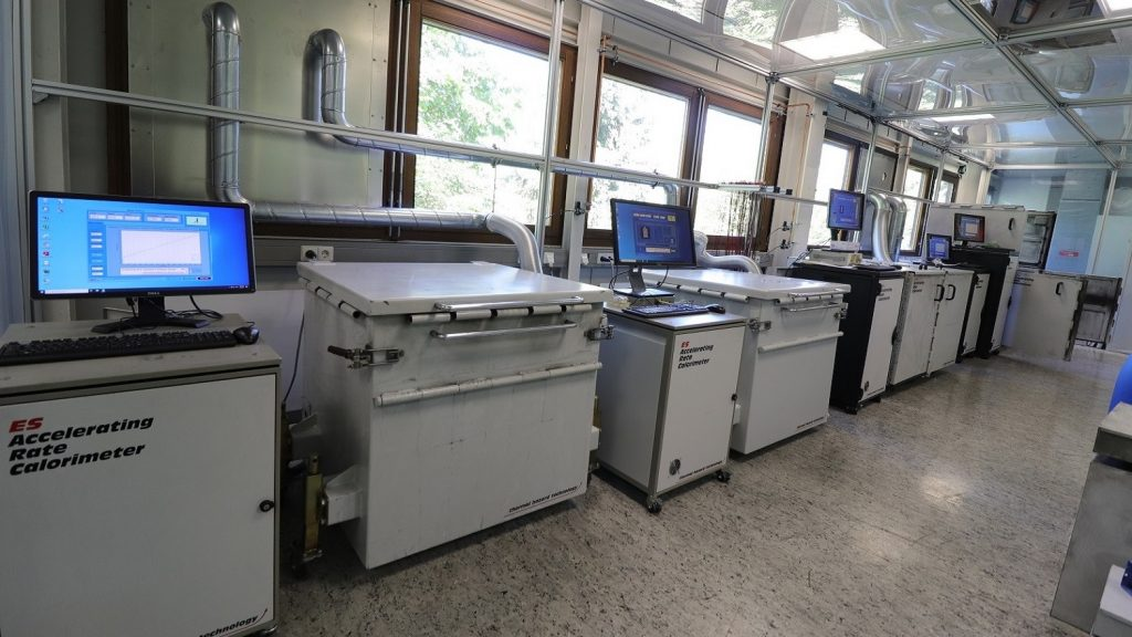 Calorimeters to advance thermal management and battery safety