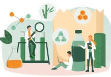 Three routes towards a circular economy of packaging materials