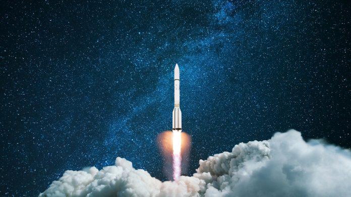 British space launch