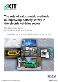 Improving electric vehicle battery safety with calorimetry